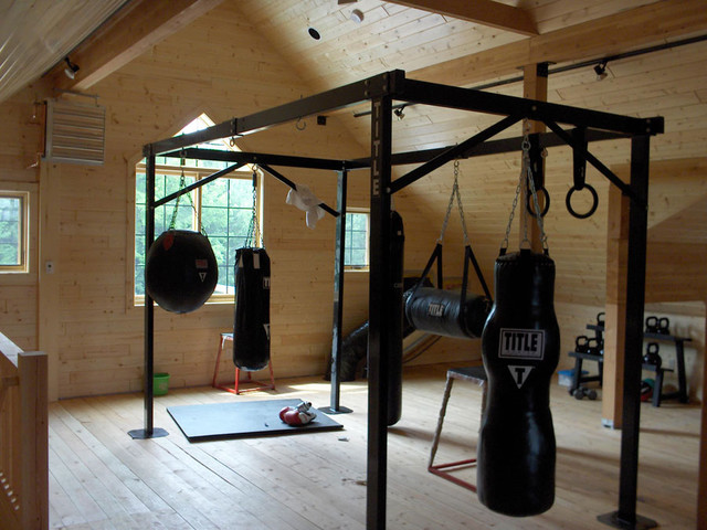 Wausau wisconsin barn rustic home gym other by