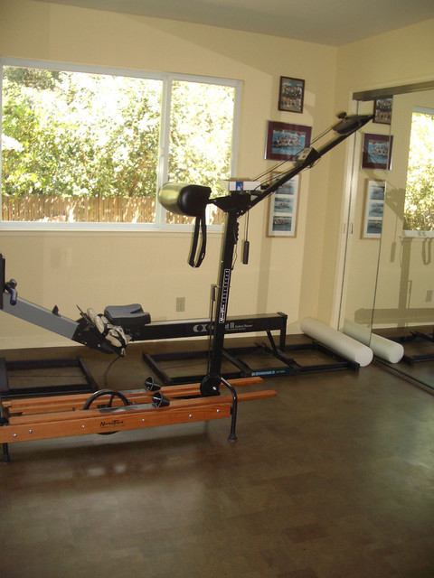 Whole House Green contemporary-home-gym