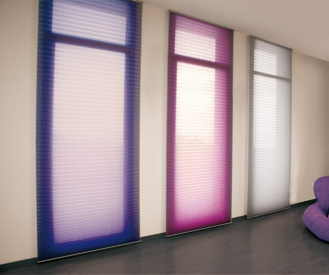 Window Treatments Contemporary Home Gym Miami By