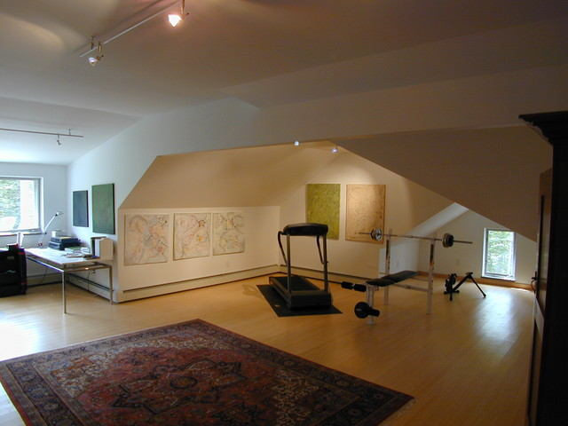 work out room home-gym