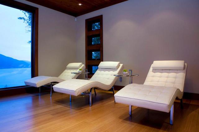 Yoga Studio contemporary-home-gym