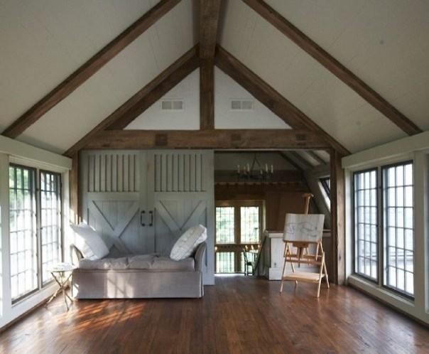 yoga studio traditional home gym - Home Yoga Room Design