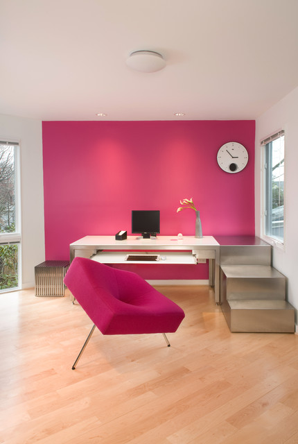 1725 Modern Transformation - Modern - Home Office - DC Metro - by ...