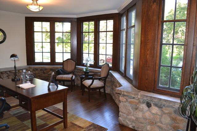 1907 Custom Craftsman Renovation traditional-home-office