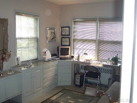 1950 Split Level With Attitude eclectic home office