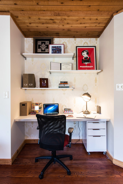 200 Block of Elmwood Ave contemporary-home-office