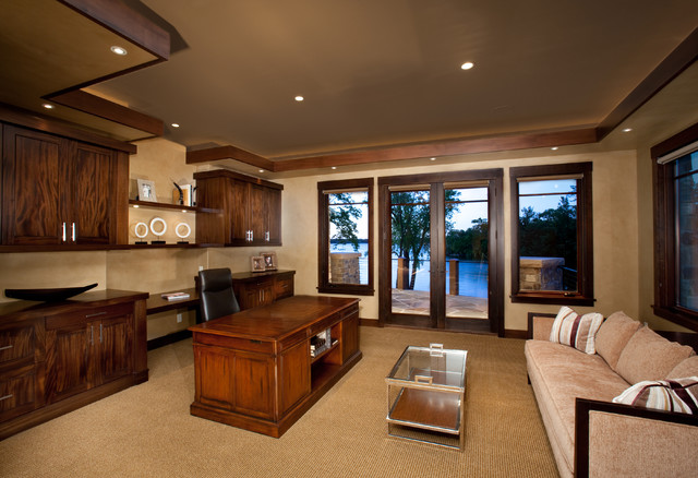 2010 Luxury Tour - Mountain Modern - traditional - home office ...