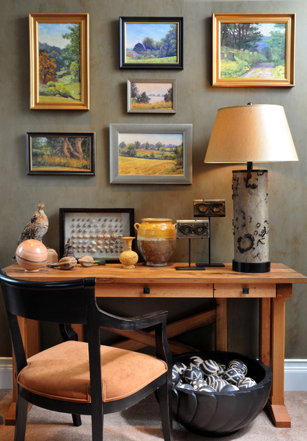 2010 Showhouse eclectic home office