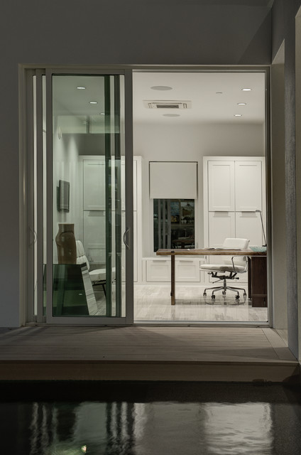 2012 New American Home contemporary-home-office