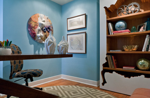Contemporary Home Office on Houzz