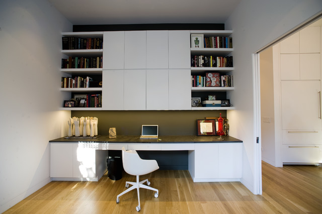 35 Liberty Street contemporary-home-office