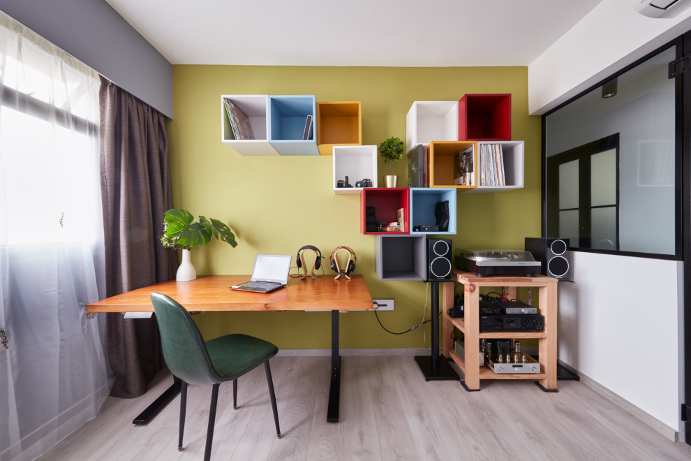 4 Room Bto Toa Payoh East Contemporary Home Office Singapore By Free Space Intent