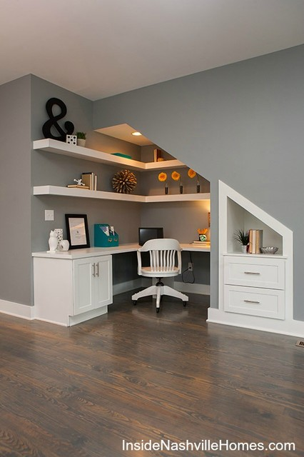 707 Buchanan - Transitional - Home Office - nashville - by Fresh Perspectives