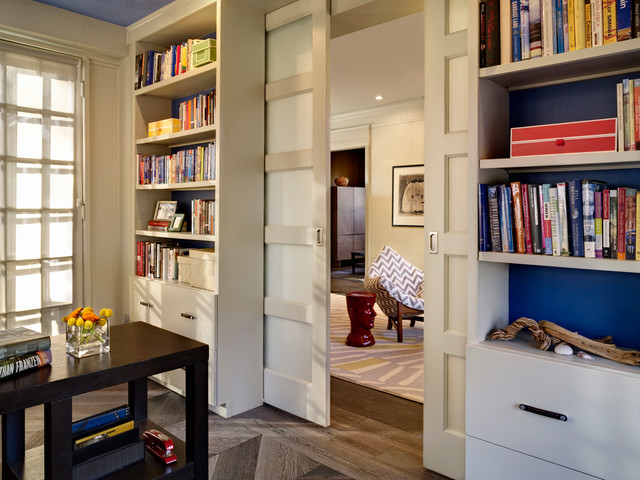7th Avenue Parkway Contemporary Remodel contemporary-home-office