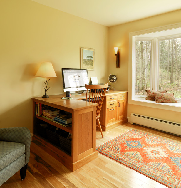80's Home Remodel traditional-home-office