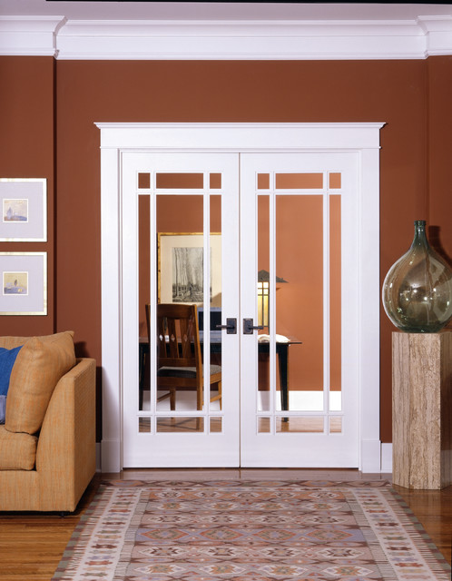 9 lite decorative glass interior door home office sacramento by homestory easy door - Interior french doors for office ...