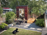 modern home office 12 Garden Sheds and Cottages We Love Now (13 photos)
