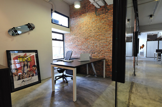 A Cool Raw Office Design Modern Home Office Hong