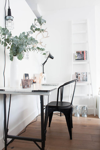 A perfectly pale interior with Nordic influences - Eclectic - Home Office - amsterdam - by ...