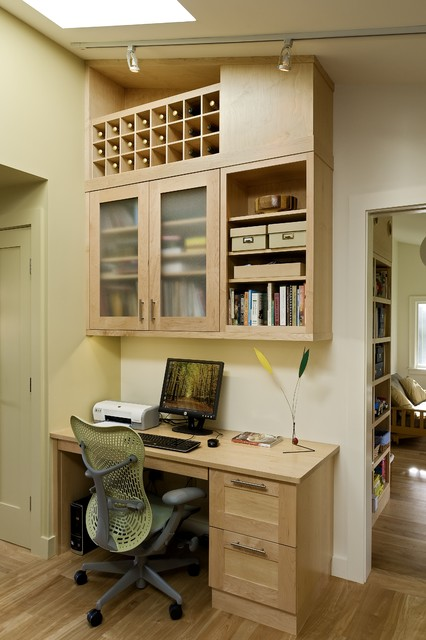 A Ranch Re-dressing Hanover NH contemporary home office