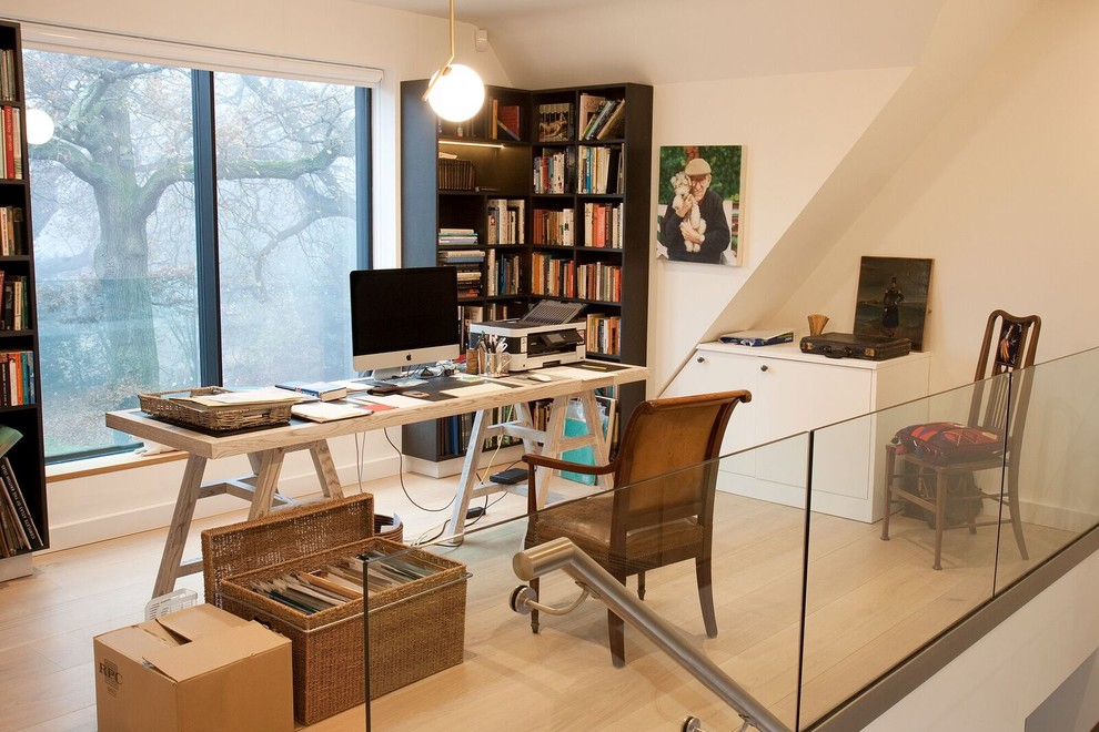 5 Creative Home Office Organizing Ideas