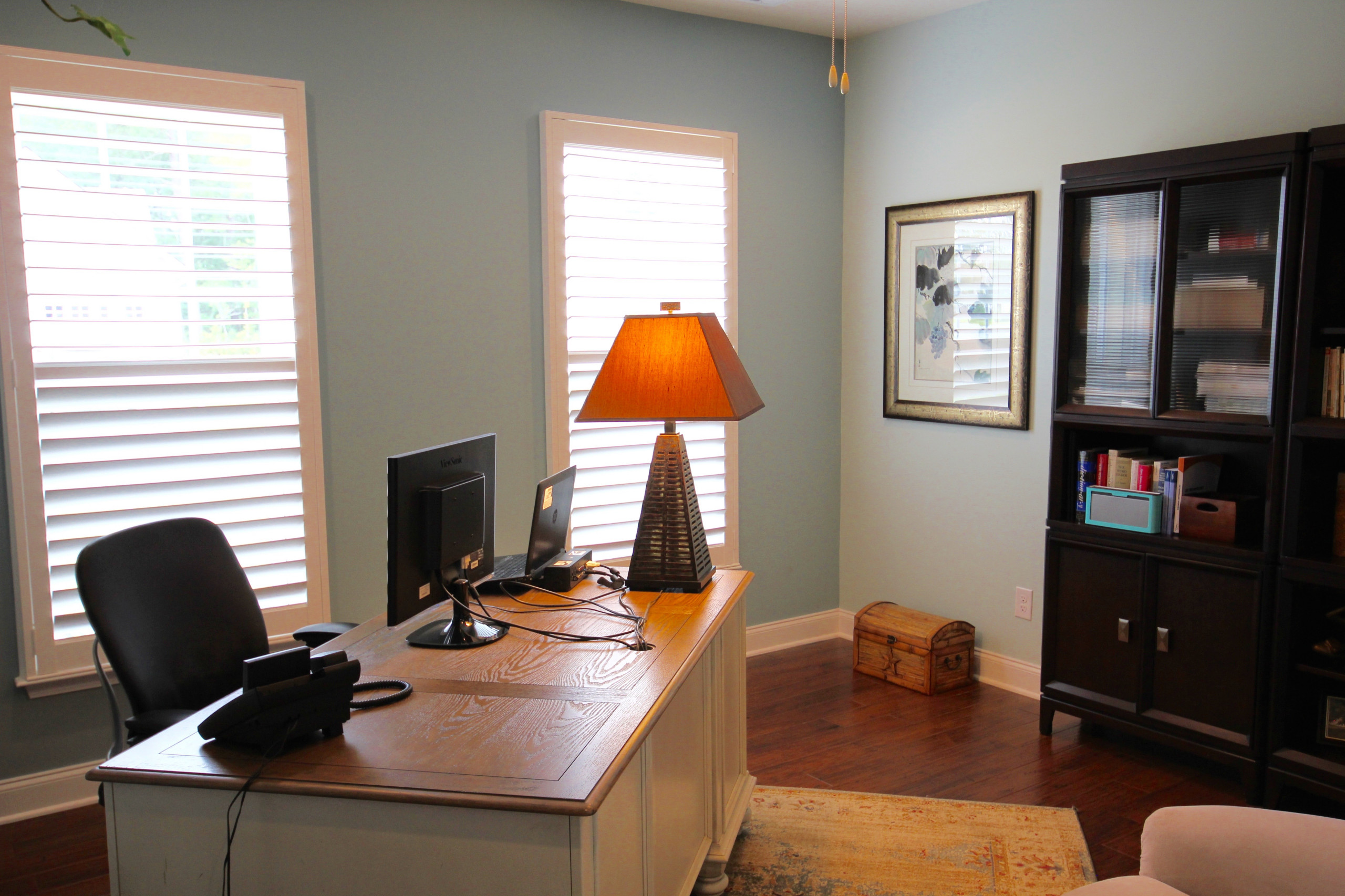 Accent Wall in Home Office