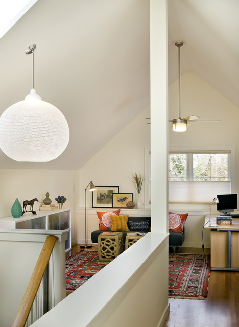 Accessible LEED Residence Office contemporary-home-office
