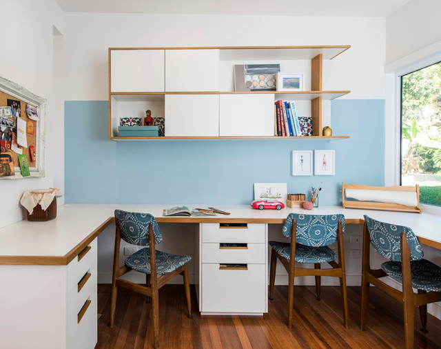Adelaide St House Contemporary Home Office