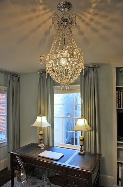 Alexandria, VA Eclectic Whole-House Renovation eclectic-home-office
