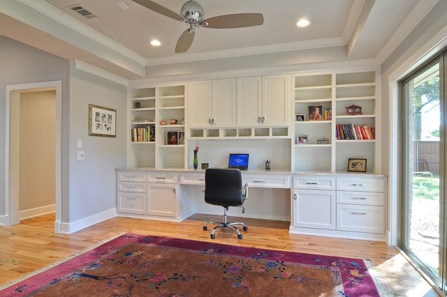 Amberwood / Remodel / North Dallas transitional-home-office