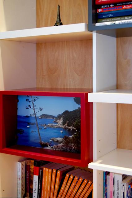am nagement d 39 un bureau r sidentiel longueuil moderne bureau domicile montreal par. Black Bedroom Furniture Sets. Home Design Ideas