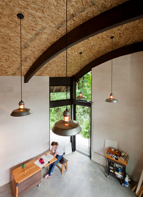 Ames Lake Studio Industrial Home Office Seattle By