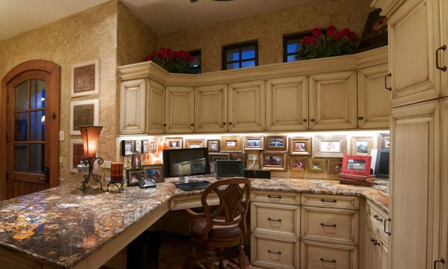 Amish Custom Cabinetry traditional-home-office