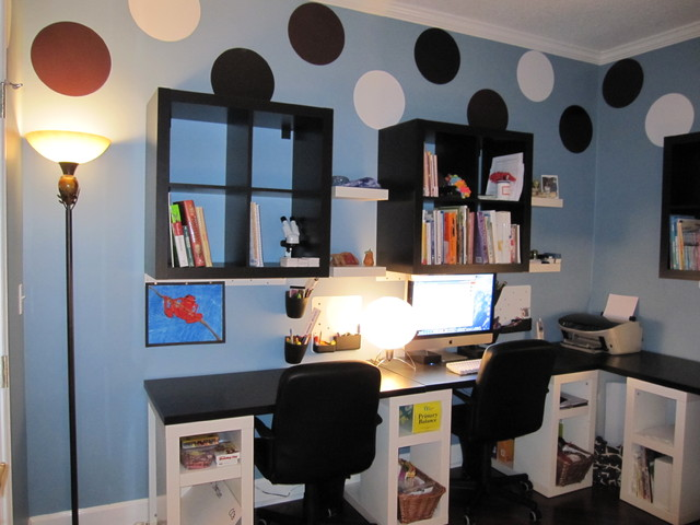 Amy Steenson modern-home-office