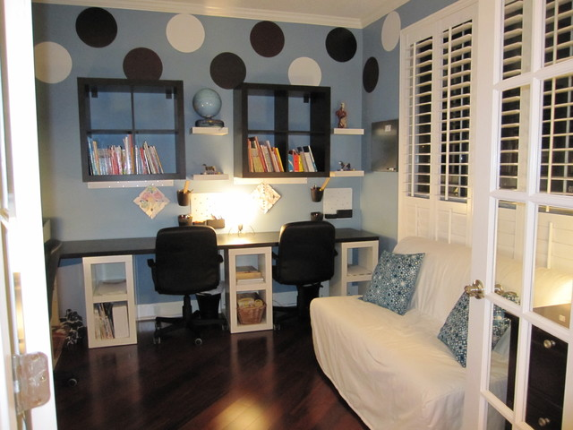Modern Home Office by Amy's Affordable Interiors