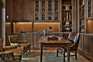 Andrea Braund Traditional Home Office Seattle By