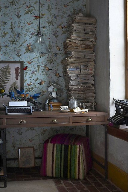 Anthropologie Home eclectic-home-office