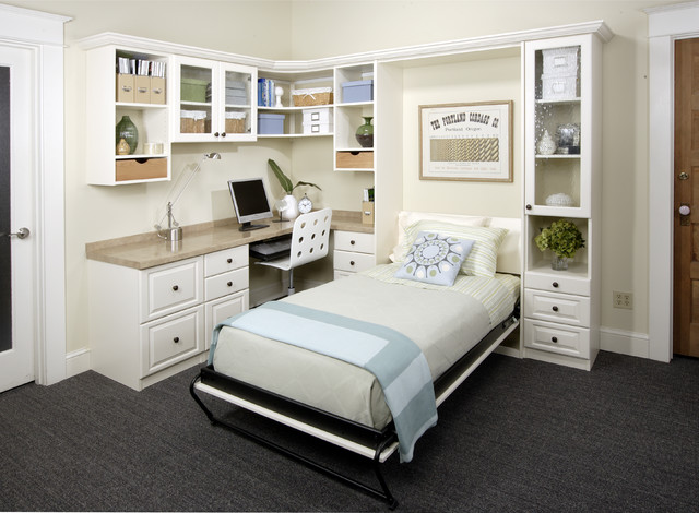 office murphy bed.  Murphy Antique White Office With Twin Wall Bed Klassischmodernarbeitszimmer With Murphy H