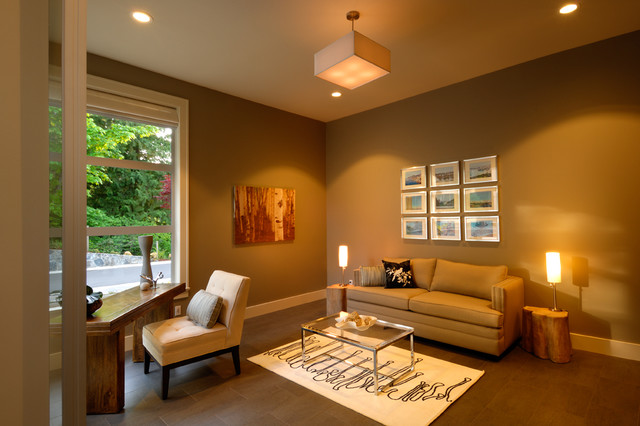 Anya Lane contemporary-home-office