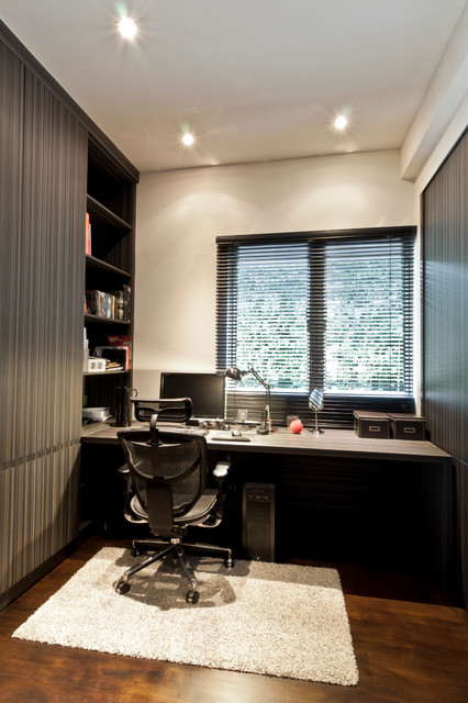 Apartment at Regent Park - Singapore contemporary-home-office