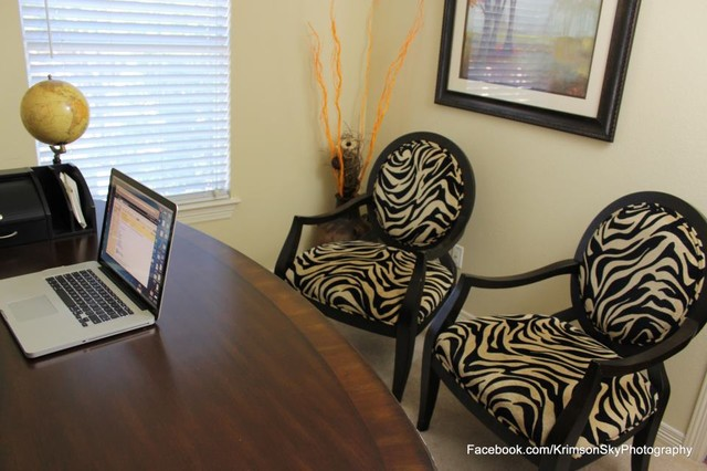 Apartment Decorating eclectic-home-office