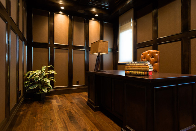 arbutus classic luxury transitional home office vancouver by - Luxury Home Office Design