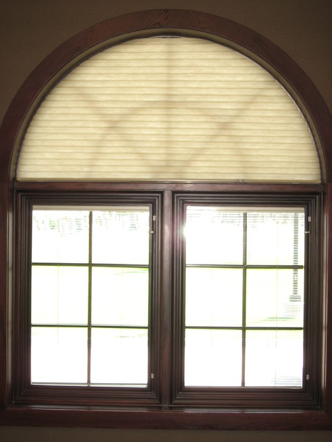 Arched window projects traditional home office other - Houses with arched windows ...
