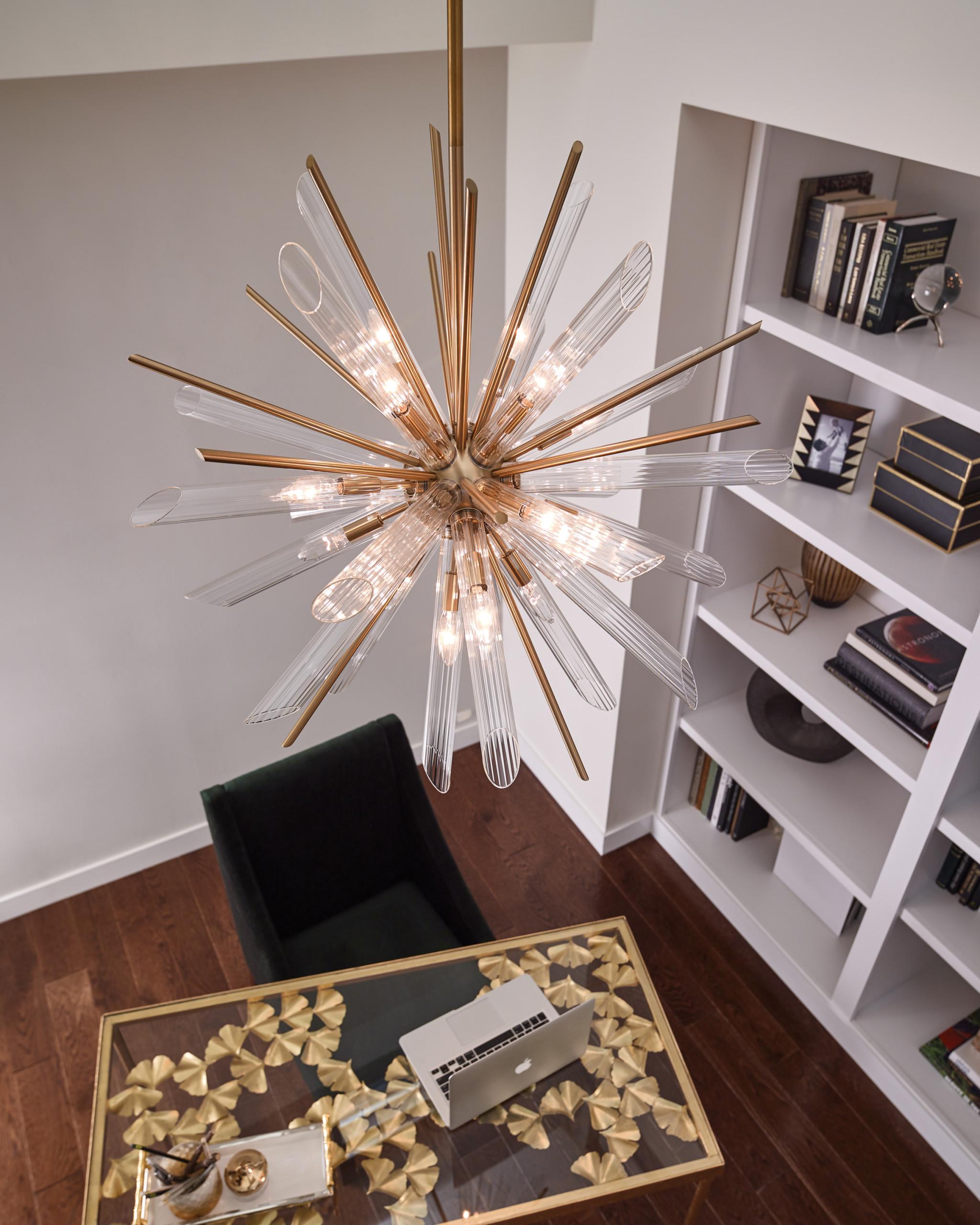 Overhead Lighting Home Office Ideas Photos Houzz