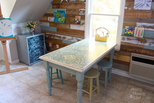 arts crafts home office. Art \u0026 Craft Studio - Previously Just A Bonus Room Eclectic-home-office Arts Crafts Home Office N
