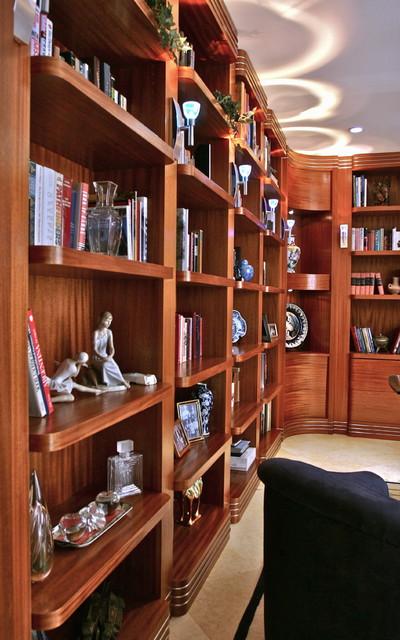 Art Deco Study contemporary-home-office