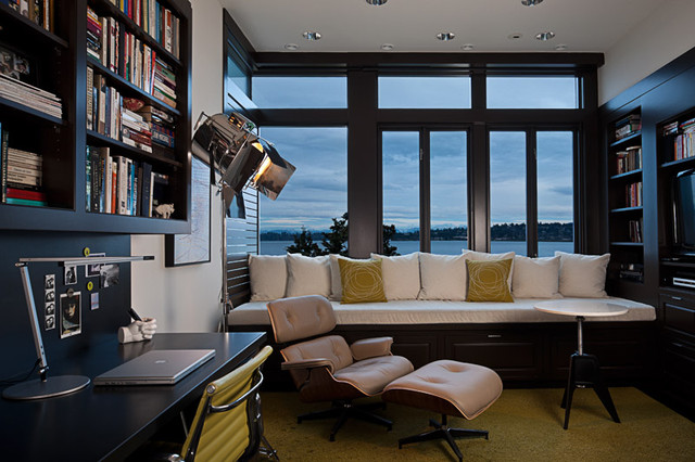 Art House office - Modern - Home Office - Seattle - by DeForest ...