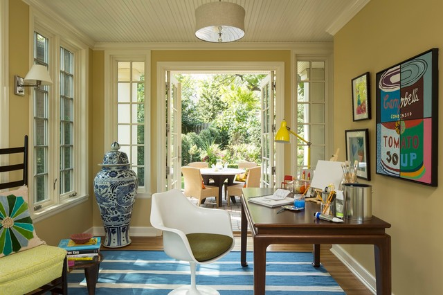 Art Studio Eclectic Home Office Minneapolis By