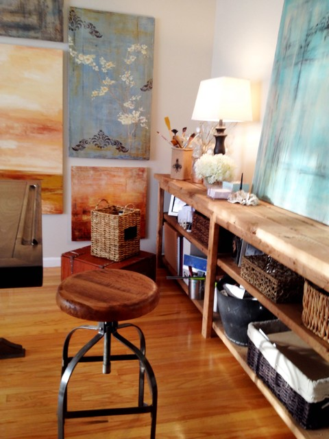 Art Studio Office Rustic Modern Home And