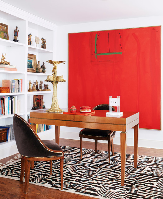 Artful living contemporary home office milwaukee for Houzz corporate office